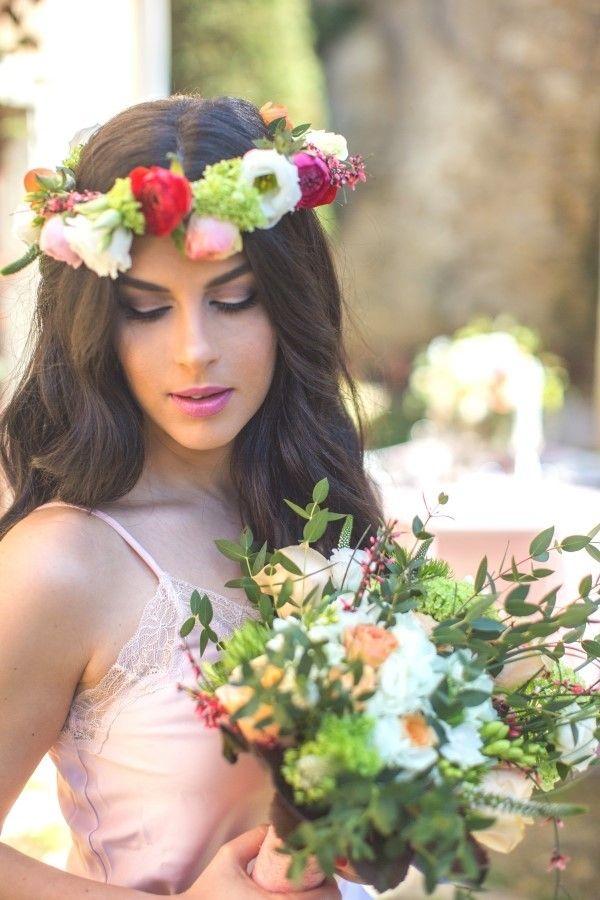Spring garden wedding inspiration in Crete