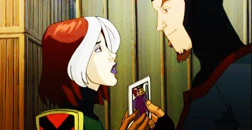 cartoon/ rogue and  gambit /x men evolution (Earth-11052)