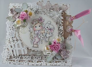 Annas scrap: Tilda with Inez the Bunny DT