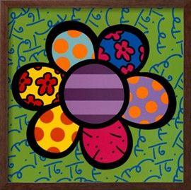 El poder de las flores IV Póster por Romero Britto en AllPosters.com.ar.