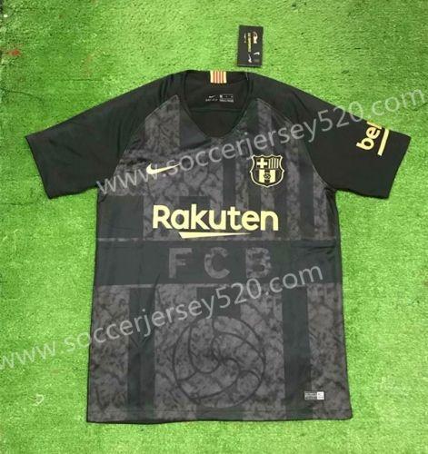 new style ba273 b086e 2019-2020 Barcelona Black Thailand Soccer Jersey AAA-407 ...