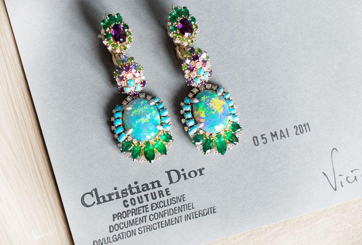 Victoire / Earrings / Opal   Garance Doré