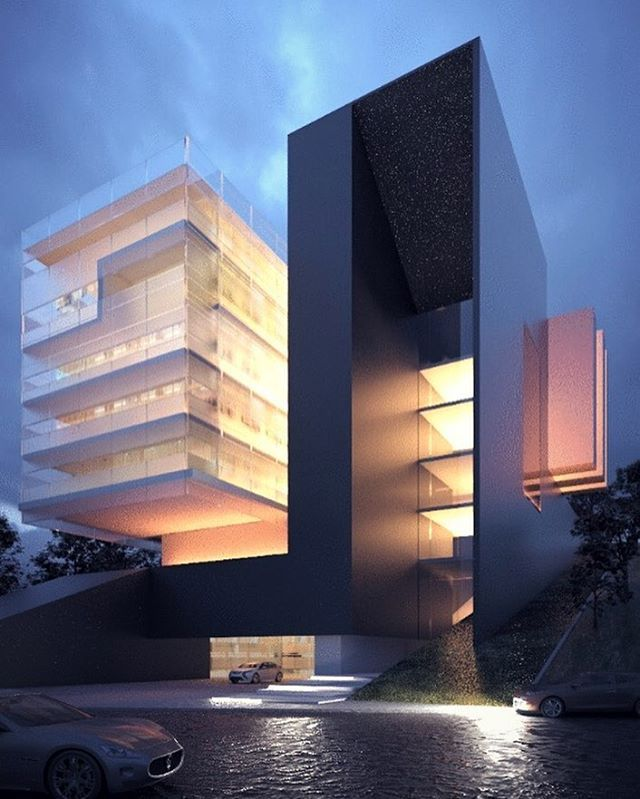 #architecture_hunter Luxo Tower, in France, by Creato Arquitectos @creatoarquitectos