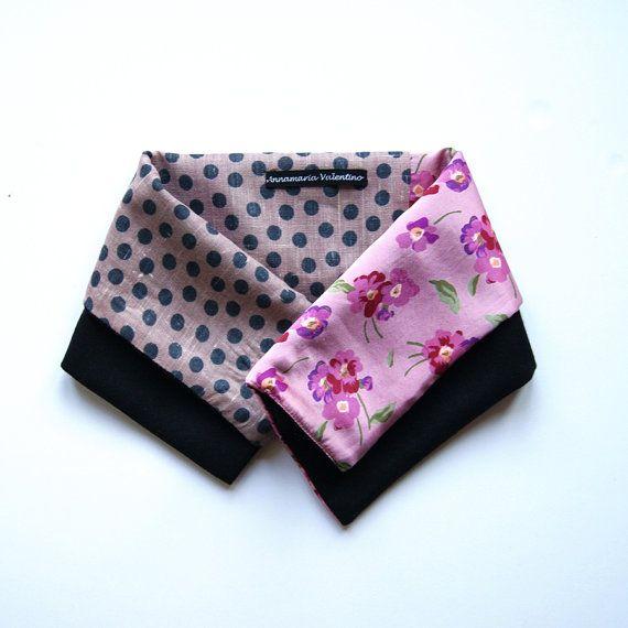 Scalda collo in seta e lana  Sciarpa foulard di ANNAMARIAVALENTINO