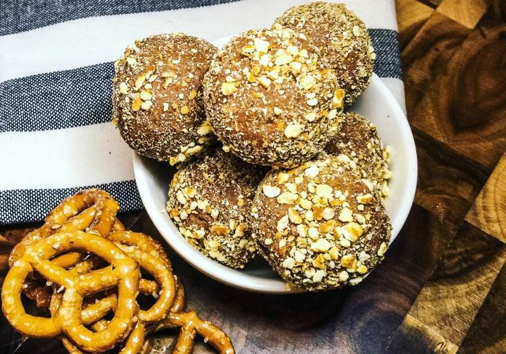Ooh! Salty pretzels combined with chocolate! That's a taste explosion just waiting to happen!