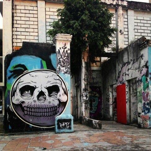 #Grafitti #grafiti #arts , #sabah #malaysia #ilovebeach #solotraveler #travel #beachgirl #beach