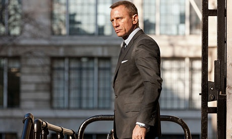 Best Bond? Daniel Craig demonstrates his steely charisma in Skyfall.