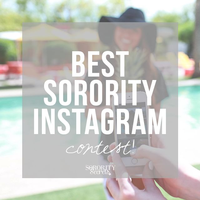 Best Sorority Instagram Contest