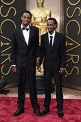 March 2 2014  Barkhad Abdi and Faysal Ahmed.