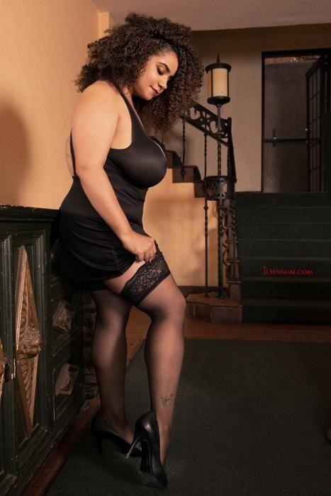 Real women in stockings