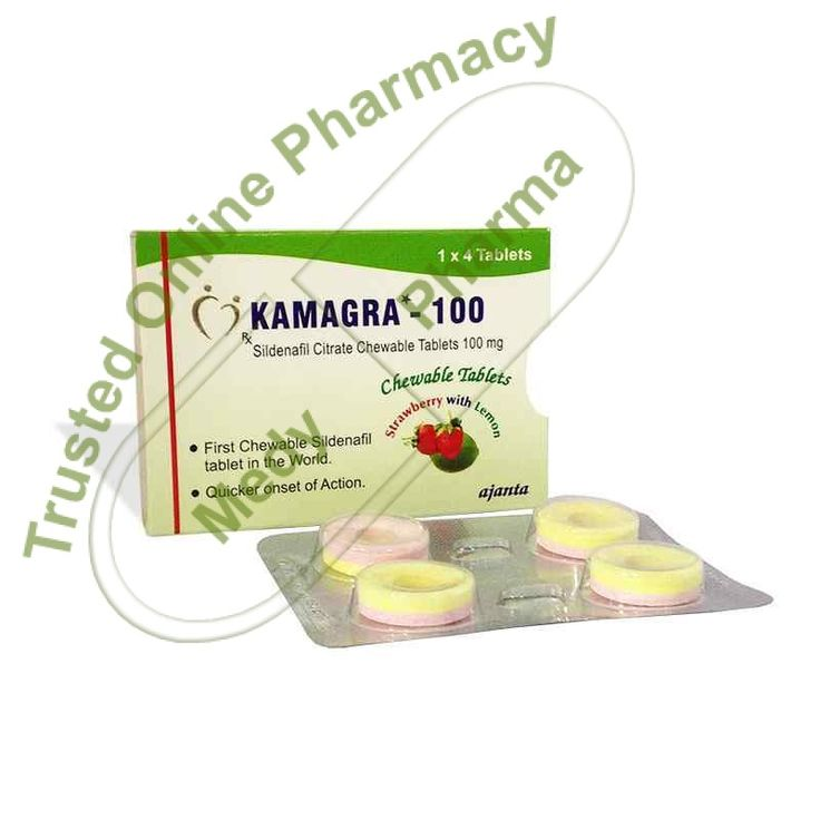 Buy kamagra chewable Table Kamagra chewable tablet by Ajanta Pharma is a phosphodiesterase type 5 (PDE5) inhibitor. It works by relaxing and dilating the blood vessels in the lungs. This lowers the blood pressure in the lungs and helps to improve your ability to exercise.   About Kamagra Soft Chewable tablets are yet another form of the popular ED medication Sildenafil.   #ajantakamagra100chewable #ajantakamagra100chewabletablet #ajantakamagrachewable #buykamagrachewable