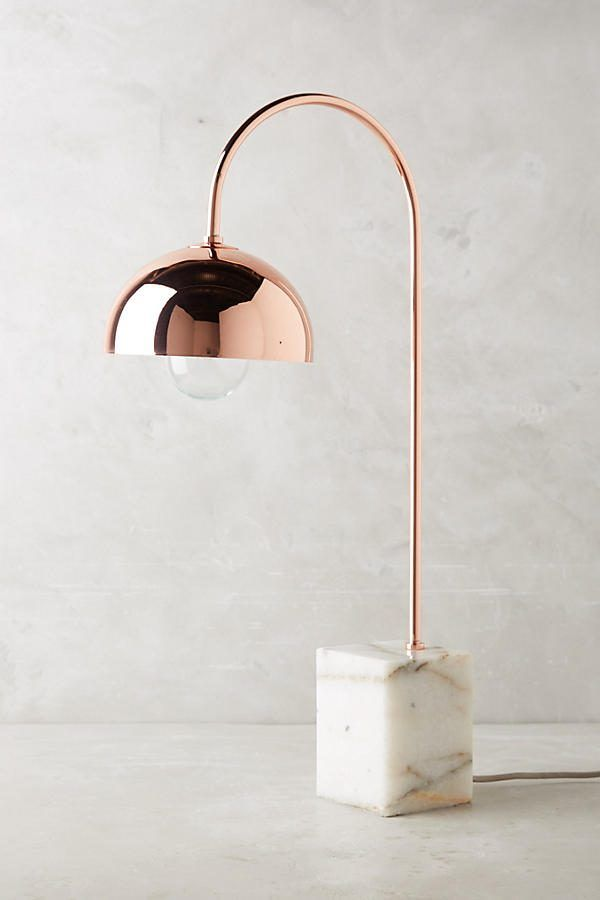 36 Cool Copper Table Lamps To Warm Up Your Interior Gold Table Lamp Gold Decor Modern Lamp