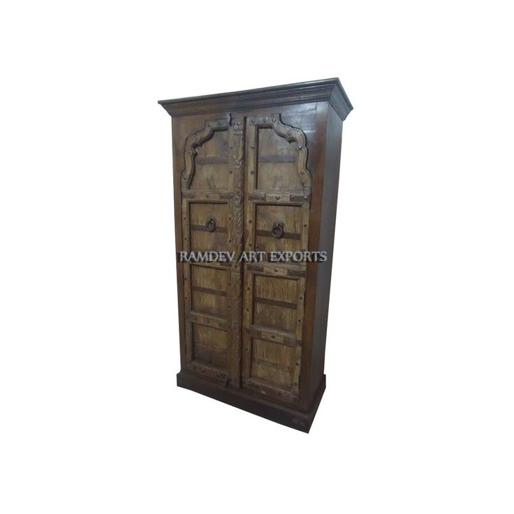 Indian Rajasthani Two Door Almirah | Indian Rajasthani Two Door Cabinet | Indian Rajasthani Two Door Armoire | Indian Rajasthani Two Door Wardrobe | Indian Rajasthani Two Door Almirah