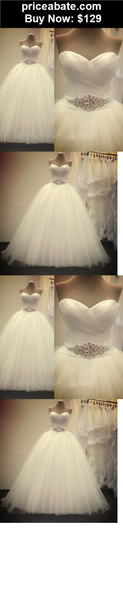 Wedding-Dresses: New White/Ivory Wedding Dress bridal Gown Custom Size 6 8 10 12 14 16 18++++++ - BUY IT NOW ONLY $129