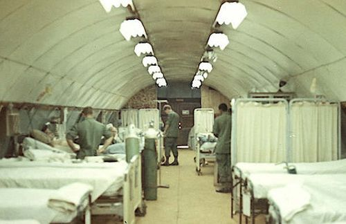 7th Surgical Hospital Blackhorse Post-Op 1967-68 by Max Burdick