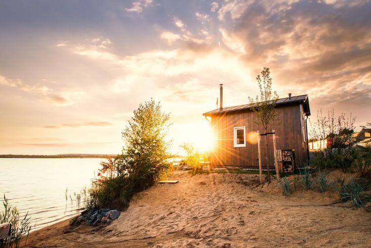 Zweiufer ( Tiny House ) am Hainer See Kleine Häuser zur