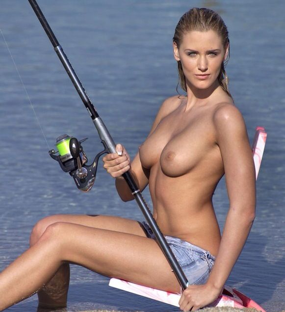 Gif hot fishing naked was