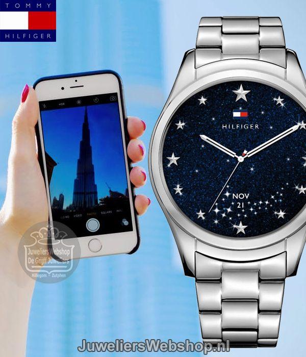Tommy Hilfiger Smartwatch TH1781831 Fashion Hybrid Dames Smartwatch TH24/7. Functies: - Alarm - Touch screen - Bluetooth - Kalender herinnering - SMS-alarm, inkomende oproepen, e-mails, Facebook notificaties en meer- Activity Tracker - App notificaties - Android apparaten 4.3 & iOS 8+ / iPhone 5+ - Wereldtijd - Meet afstanden, snelheid en aantal stappen - Gemiste oproep melding - Binnenkomende oproep - Stuurt muziek spelend op de smartphone - Android & iOS Compatible. #smartwatch…