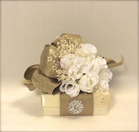 Gift Cards Box Pre-wrapped Gift Box Wedding by WrapsodyandInk