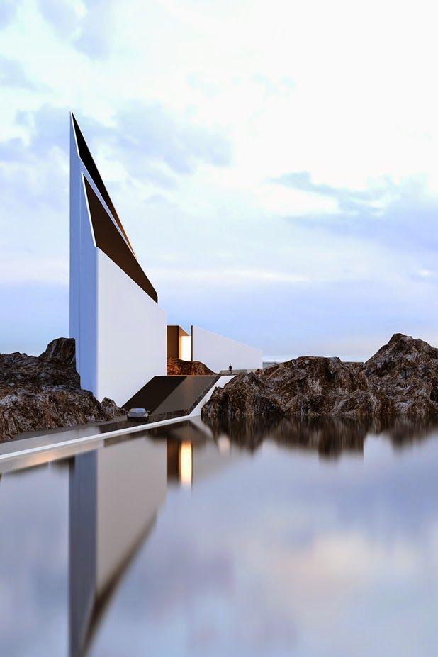 architectural concepts by Roman Vlasov http://ineedaguide.blogspot.com/2014/12/roman-vlasov.html #architecture