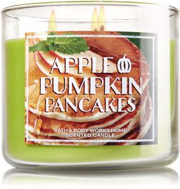 Apple Pumpkin Pancakes 3-Wick Candle - Home Fragrance 1037181 - Bath & Body Works