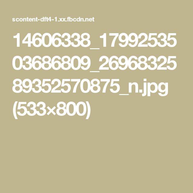 14606338_1799253503686809_2696832589352570875_n.jpg (533×800)