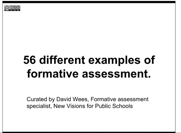 The  Best Formative Assessment Strategies Ideas On