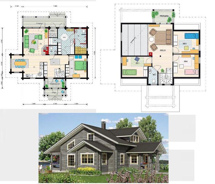 141 best images about planos y casa on pinterest house - Cubiertas para casas ...