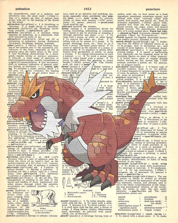 Tyrantrum Pokemon Dictionary Art Print by MollyMuffinsPrints