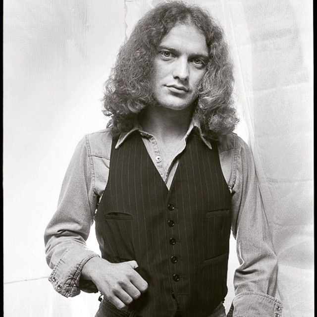 "Photo by Len Delessio - Here's another from ""Then"". Lou Gramm in my studio 1976."