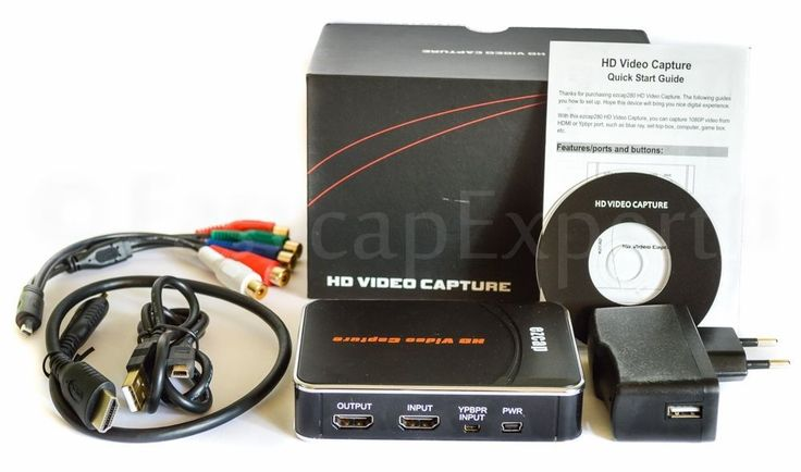 Finally on the market is a decent Hdmi/YPbPr 1080p video capture card which costs under US $100,00!!!