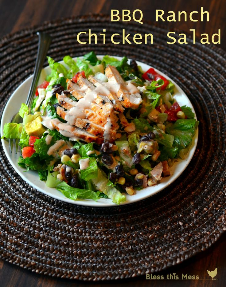 Salad so deliciously hearty you can serve it as main dish. Loved it!