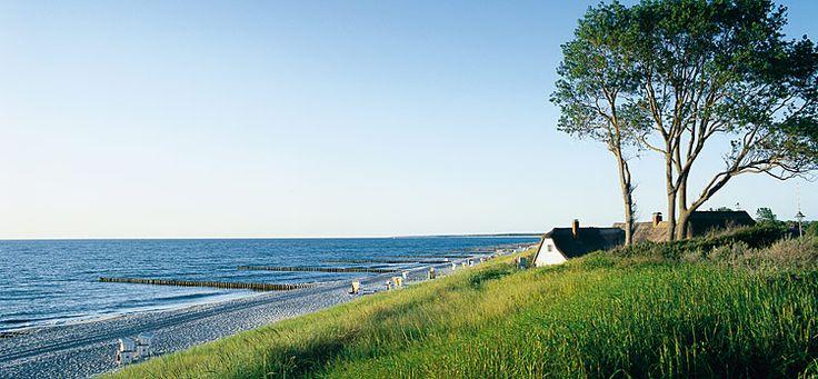 Deutsche Ostsee-Idylle: Fischland Darß-Zingst.