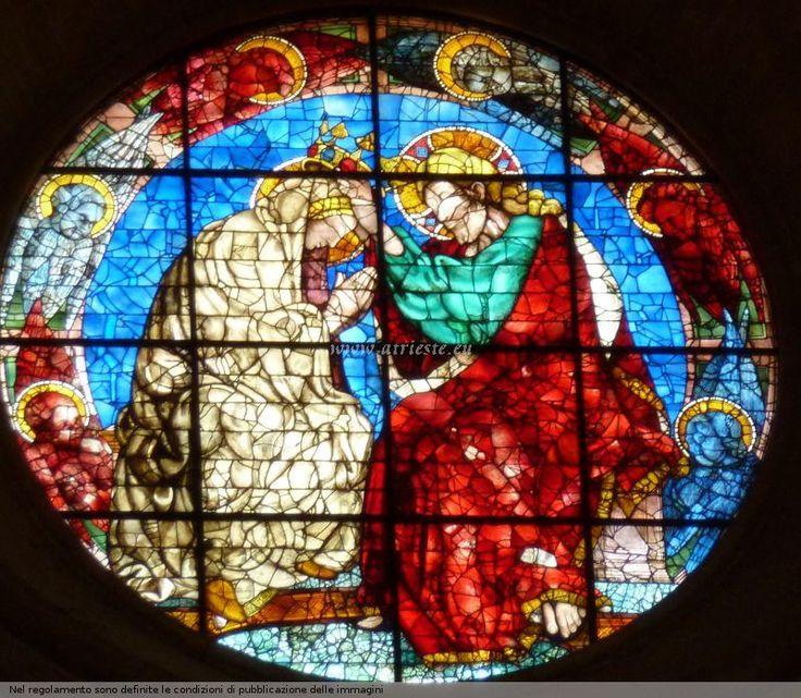 Vetrata del Duomo Firenze - Donatello