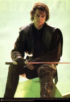 Hayden Christensen portrayed Anakin Skywalker in the film Star Wars Episode III: Revenge of the Sith. Description from pinterest.com. I searched for this on bing.com/images