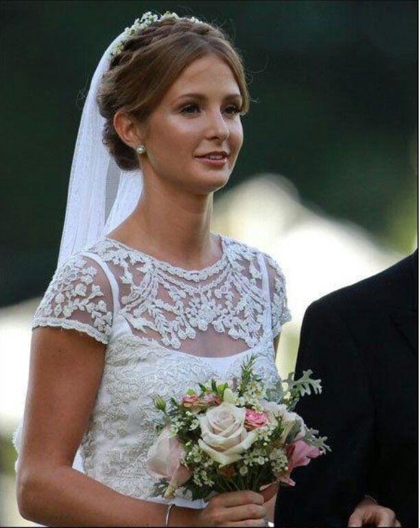 Millie Mackintosh - wedding dress