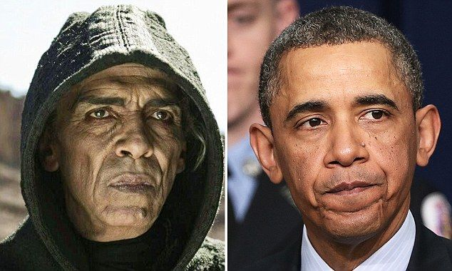 Why does the devil in 'The Bible' look exactly like President Obama? Just sayin'
