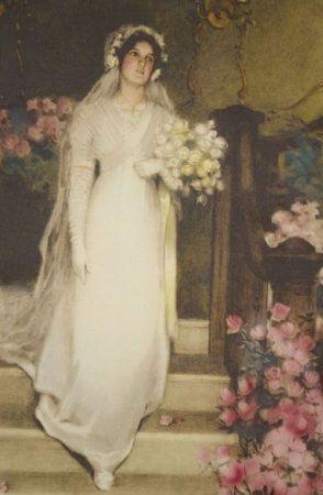 "Bessie Pease Gutmann ""To Love And To Cherish"" 1911"