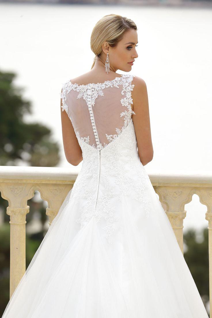 22 besten Lace back Wedding Dresses Bilder auf Pinterest ...