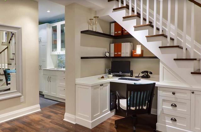 Ottimizzare lo spazio sotto le scale