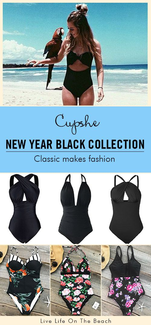RECOMMENDED BLACK COLLECTION! It is almost impossible to create anything without the addition of black. Try a vintage black style, add more mysteriousness to this summer. Free shipping & Shop Now!