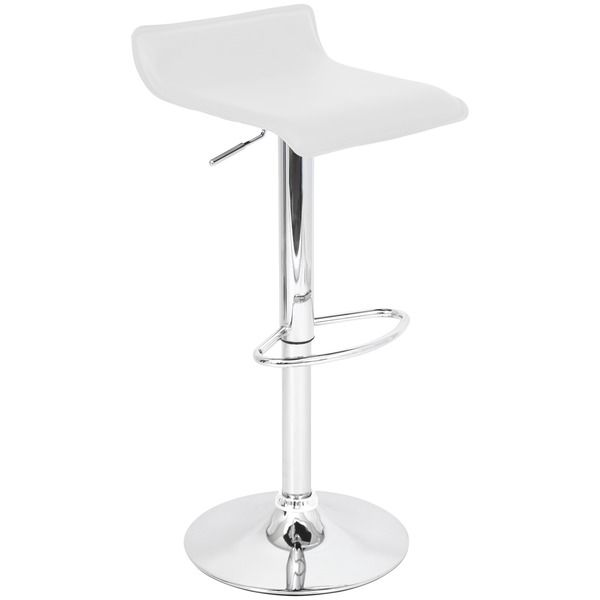 White Ale Hydraulic Barstool - Overstock Shopping - Great Deals on Bar Stools