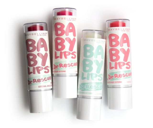 Maybelline Baby Lips Dr. Rescue Lip Balms - One of my favourite lip balms this time of year!