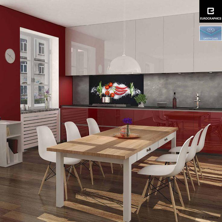 32 best Küche images on Pinterest - küche spritzschutz glas