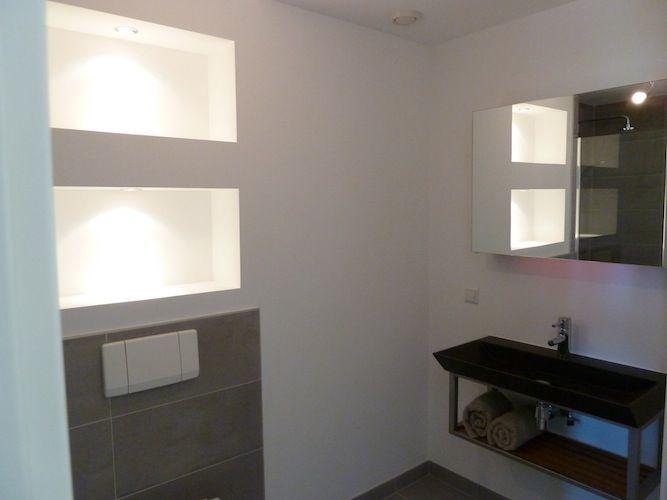 25 beste idee n over douche ruimtes op pinterest houzz betegelde badkamers en kleine - Open douche ruimte ...