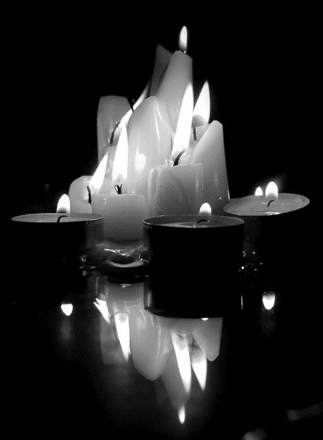 Light some candles sit in the dark and listen to the silence