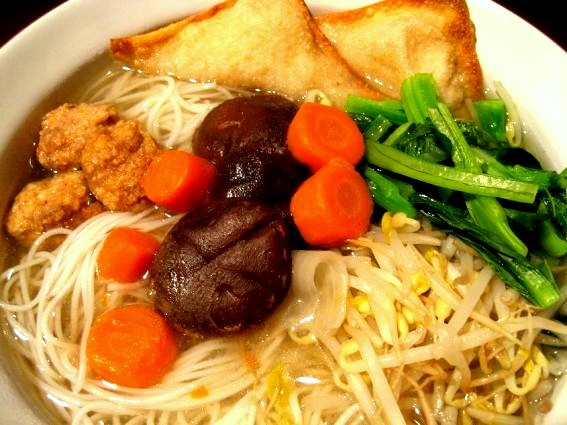 Rice noodles soup Recipe.