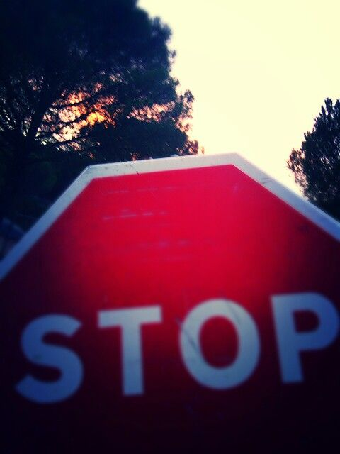 Stop...you'll watch at dusk.