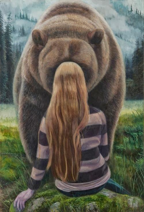 Девочка и медведь картинки, поздравлением днем рождения