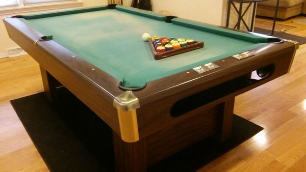 Crown Pools Inc: Brunswick Billiards 7' Richmond Pool Table